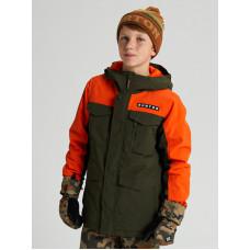 Burton COVERT forest night dětská zimní bunda - XL