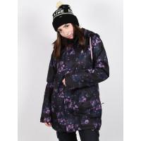 Volcom Westland Ins Black Floral Print zimní bunda dámská - S