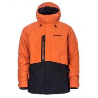 Horsefeathers BARKELL jaffa orange zimní bunda pánská - M