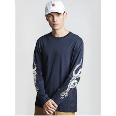 Element SNAKES indigo pánské tričko s krátkým rukávem - M