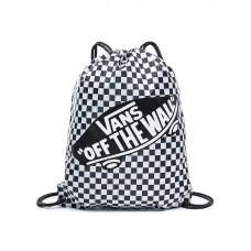 Vans BENCHED Black/White Checkerboard sportovní vak na záda