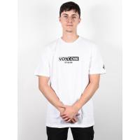 Volcom For Never white pánské tričko s krátkým rukávem - M