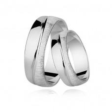 OLIVIE Snubní prsten SATIN 2200 Velikost prstenů: 8 (EU: 57 - 58)