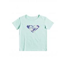 Roxy DAY AND NIGHT PRINT BROOK GREEN dětské tričko s krátkým rukávem - 14/XL