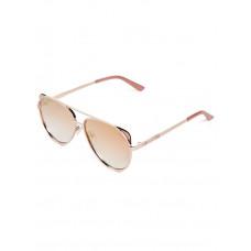 GUESS brýle Flat-Front Aviator Sunglasses rosegold vel.