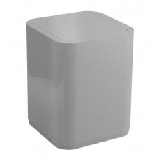 AQUALINE - SEVENTY odpadkový koš výklopný, 8 l, plast ABS, šedá (630908)