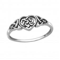 OLIVIE - stříbrný prsten 0202 Velikost prstenů: 8 (EU: 57 - 58)