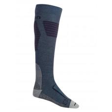 Burton ULTLGHT WOOL LARKSPUR kompresní ponožky - S