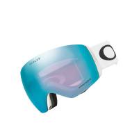 Oakley FLIGHT DECK XL MatteWhite w/PrizmSapphireGBL pánské brýle na snowboard