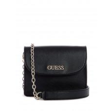 GUESS kabelka Leslie Mini Crossbody černá vel.