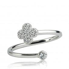 Zlato Zlatý dámský prsten Spiral 1460596 Velikost prstenu: 54