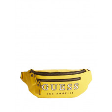 GUESS ledvinka Guess Originals Logo Belt Bag žlutá vel.