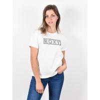 Roxy EPIC AFTERNOON WORD SNOW WHITE dámské tričko s krátkým rukávem - S