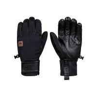 Quiksilver SQUAD black pánské prstové rukavice - XL