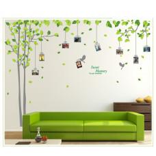 Samolepka Dárkový strom vzpomínek - 2 barvy Barva: Šedý
