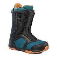 Gravity RECON FAST LACE BLACK/BLUE/RUST pánské boty na snowboard - 45,5EUR