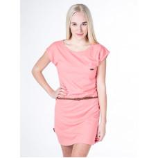 Alife and Kickin ELLI CORAL společenské šaty krátké - XL