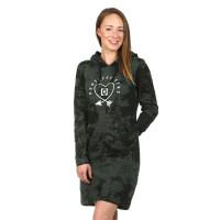 Horsefeathers IVEY gray tie dye společenské šaty krátké - XS