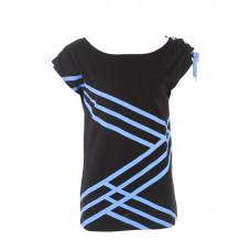 Picture Zigzag black dámské tričko s krátkým rukávem - XL