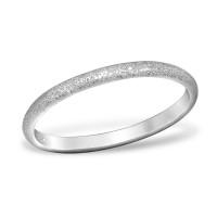 OLIVIE Pískovaný stříbrný prsten 0955 Velikost prstenů: 5 (EU: 49-50)