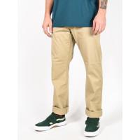 RVCA THE WEEKEND STRETCH KHAKI plátěné sportovní kalhoty pánské - 30