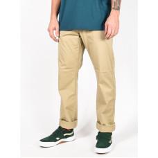 RVCA THE WEEKEND STRETCH KHAKI plátěné sportovní kalhoty pánské - 32