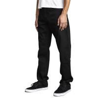RVCA WEEKEND DENIM BLACK BLACK značkové pánské džíny - 30