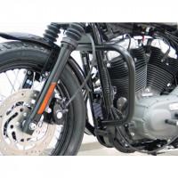 padací rám Fehling Harley Davidson Sportster Evo 04- černý, průměr 30mm - Fehling Ernest GmbH a Co. 7227DHDS