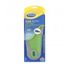 Scholl GelActive Sport gelové vložky do bot 1 pár Pro muže
