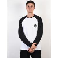Rip Curl ORIGINAL black/white pánské tričko s dlouhým rukávem - L