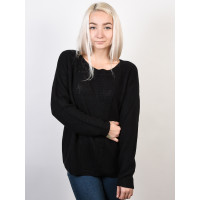 Roxy DESERVE GOOD THINGS ANTHRACITE dámský značkový svetr - L