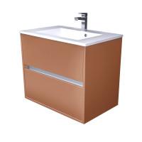 CEDERIKA - Amsterdam umyvadlová skříňka 2x šuplík barva metallic měděný korpus korpus metallic měděný šíře 75 (CA.U2B.133.075)