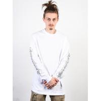 Emerica Spiked white pánské tričko s dlouhým rukávem - XL