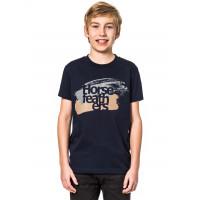 Horsefeathers STROKES NAVY dětské tričko s krátkým rukávem - XXL
