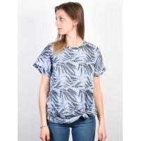 Volcom Breaknot Misty Blue dámské tričko s krátkým rukávem - S