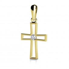 Zlato Zlatý dámský přívěsek Christine 6829657
