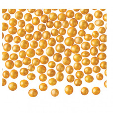 Perličky zlaté s perletí