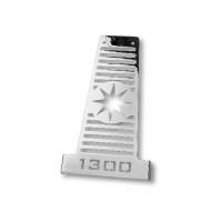 Yamaha XV 1300 Midnight Star kryt chladiče - 6465