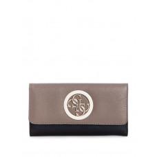 GUESS peněženka Open Road Multi Clutch taupe vel.