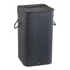 Gedy - TATAMI koš na prádlo 35,5x63x35,5cm, černá (TA3814)