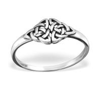 OLIVIE Stříbrný keltský prsten 2219 Velikost prstenů: 6 (EU: 51 - 53)
