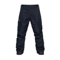 Horsefeathers HOWEL black zateplené kalhoty pánské - S