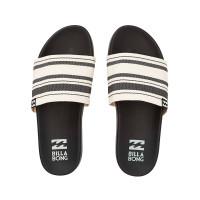 Billabong SURF RETREAT BLACK WHITE dámské pantofle - 36EUR