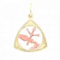 Zlato Zlatý přívěsek znamení zvěrokruhu 3220018 Znamení zvěrokruhu: Vodnář