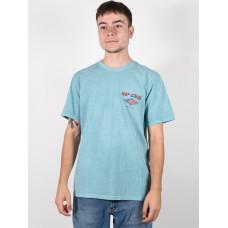 Rip Curl FADEOUT TEAL pánské tričko s krátkým rukávem - XL