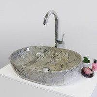 Aquatek TOTO keramické umyvadlo 59,5x42x14cm