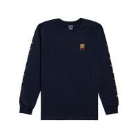 Billabong UNITY NAVY pánské tričko s dlouhým rukávem - L