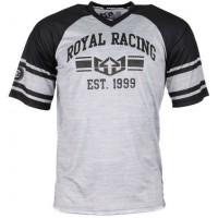 Royal GRADUATE JERSEY BLACK/GRAPHITE/WHITE triko na kolo - XXL