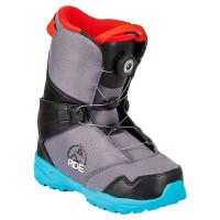 FTWO TEAM black dětské boty na snowboard - 31EUR