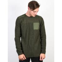 Element COLTIN MOSS GREEN pánský značkový svetr - XL